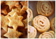 Patce's Patisserie: In der Weihnachtsbäckerei: Zimtschnecken-Kekse & Sahne-Zimtsterne {ohne Mandeln}