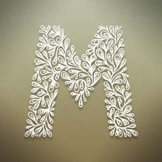 how to make paper quilling letters - Google Search