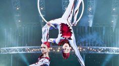 """Cirque du soleil. Lo spettacolo """"Quidam"""" lascia senza parole.  Bologna, Unipol Arena"""