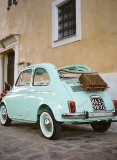 Mint vintage car  (Have you seen our matching charm?!)