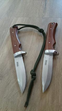 A pair of Alan Wood knives i designed