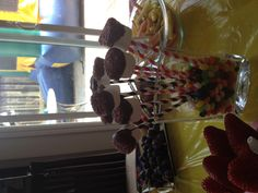 Marshmallow deep in chocolate