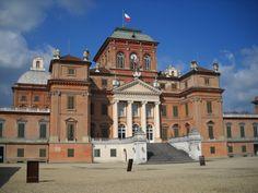 Palacio de Racconigi. Piamonte. Italia