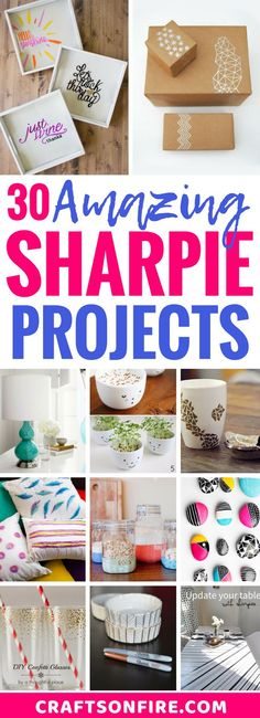 DIY Sharpie Crafts I
