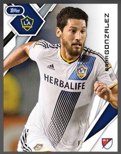 5191278aef8 Omar Gonzalez Los Angeles Galaxy (MLS) Base Card 2015 Topps KICK