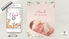 Enchanted Forest baby Animals. Newborn Announcement Newborn Announcement, Enchanted, Baby Animals, Cheers, Invitations, Baby Pets, Invitation, Animal Babies, Cubs
