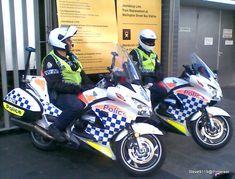 Police Motorbikes @ Perth, Western Australia