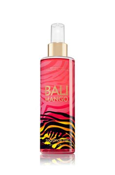 Bath and Body Works Bali Mango Body Mist Bath N Body Works, Bath And Body Works Perfume, Perfume Body Spray, Neutrogena, Bali, Fragrance Mist, Body Mist, Body Lotions, Smell Good