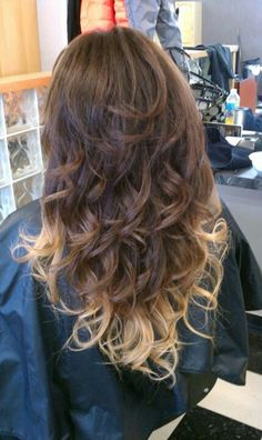 The 9 best brown hair with blonde tips images on Pinterest   Hair ...