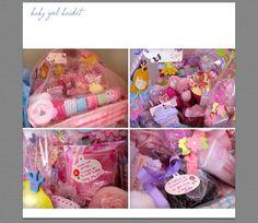gift basket for twin boy & girl xox love decorating!