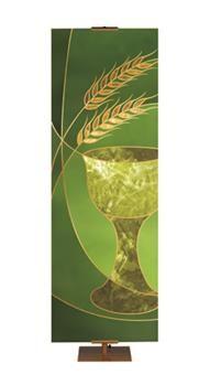 Green Liturgical Communion Banner