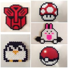 Hama perler bead crafts by katrin4869