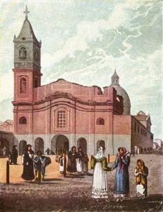 Historia Digital - Enciclopedia Fotográfica: Calle Defensa-Iglesia de Santo Domingo