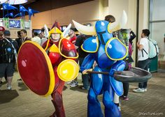 shield knight and shovel knight!