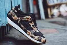 Japanese retailer Atmos is teaming up with ASICS to release the awesome ASICS x Atmos Gel Lyte III Duck Camo.