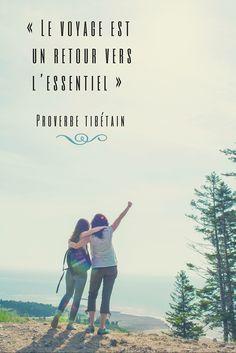 « Le voyage est un retour vers l'essentiel » - Proverbe tibétain | Citations de voyage inspirantes | Vivez votre aventure de rêve au Nouveau-Brunswick, Canada