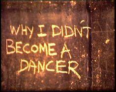 Why I never became a dancer, 1995