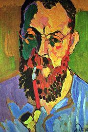 André Derain - portret Matisse - 1905