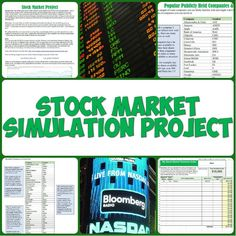 This fun and informative stock market project has students research companies they want to invest in for a simulation of how the stock market and investing work! How to Invest