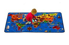 World Carpet for our Global Child, perfect for a playroom or classroom