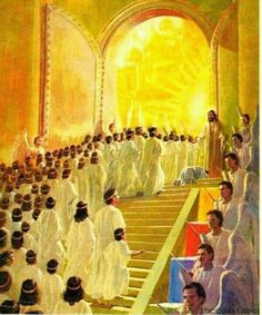 Jesus Christ the Messiah lives in heaven seated at the Right Hand of God Almighty, celebrated as the authorized, endorsed KING of Kings and Lord of lords. God Highly exalted Jesus Christ by giving … Braut Christi, Image Jesus, Jesus Is Alive, Christian Pictures, Jesus Christus, Jesus Art, Les Religions, Jesus Is Coming, Prophetic Art