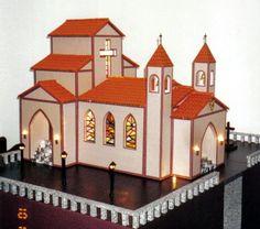 maquete de templo da basilica - Pesquisa Google