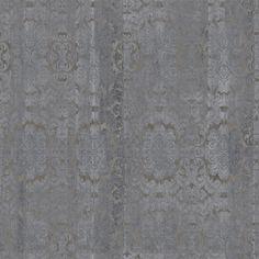 Carta da parati damascata panoramica effetto cemento DAMASKED CONCRETE Collezione Gaia by Inkiostro Bianco design Ink Lab