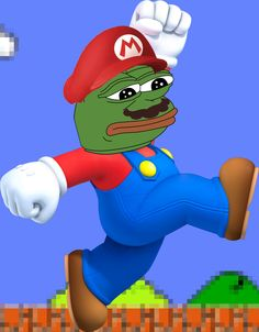 This is a super rare pepe. This is the peperio. He is a character in a game played by many races of pepe.
