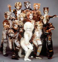 """There wasn't much reason not to see """"Cats"""" on Broadway, since it ran there for approximately as long as the Middle Ages. Cats The Musical Costume, Cats Musical, Cat Costumes, Musical Theatre, Costume Ideas, Jellicle Cats, Cat Movie, Broadway Costumes, Cat Fountain"""