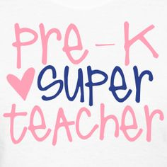 Preschool Teacher Tshirt Full Heart PreK Back to
