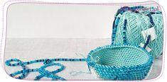 Ukośnik – rozprowadzanie nawleczonych koralików na nitce Bead Crochet, Beads, Blog, Beading, Beaded Crochet, Bead, Blogging, Pearls, Seed Beads