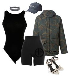 """BLACK"" by alexannaloro on Polyvore featuring adidas Originals, SPANX, Alexander Wang, Urban Renewal, Yeezy, kanyewest, Yeezus and Pablo"