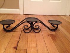 Coming soon Longaberger 3 Tier Wrought Iron Candle Holder