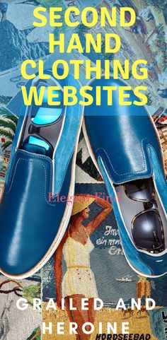 Second Hand Clothing Websites, Grailed, Heroine, Second Hand Clothes Online Shops,