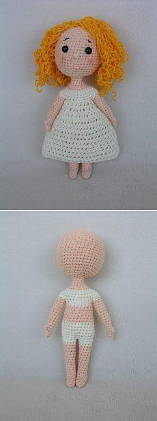 Куколки. Амигуруми.