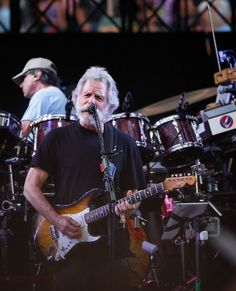"Bob Wier of the Grateful Dead performs during the first show of the band's ""Fare Thee Well"" tour at Levi's Stadium in Santa Clara, California, on Saturday, June The tour celebrates the anniversary of the band. Photo: Loren Elliott, The Chronicle Turn On Your Lovelight, Grateful Dead Shows, Psychedelic Rock Bands, Dead Band, Bob Weir, Soldier Field, The One Show, Forever Grateful"