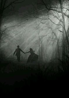 Fairytale Dreams ✩ Running away with Prince Charming ✩ Black and White Fantasy Photography. Fantasy Magic, Fantasy World, Dark Fantasy, Fantasy Photography, White Photography, Street Photography, Story Inspiration, Writing Inspiration, Character Inspiration