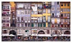 Ribeira, Porto, Portugal by fegari . Times Square, Portugal, Street View, Places, Pictures, Travel, Porto, Photos, Viajes