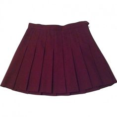 Polyester skirt AMERICAN APPAREL ($49) ❤ liked on Polyvore featuring skirts, american apparel, purple skirt and american apparel skirt