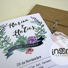 Diseño de Invitaciones Originales para eventos, Casamientos, Cumpleaños, 15 Años