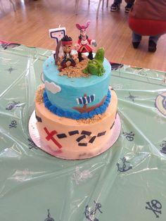 Jake and the never land pirates birthday cake