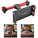 #2: Car Headrest Mount Tryone Car Seat Mount Holder for iPad/ iPad Air/ iPad Pro/ iPad Mini/ Samsung Galaxy Tabs/ Samsung S8 S7 S6/ Amazon Kindle Fire HD 7 8 10/ Nintendo Switch and more (Red) #movers #shakers #amazon #electronics #photo