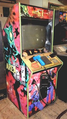 dedicated #atari area 51 arcade game cabinet from $185.0