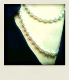 Pearls.  #Necklace #Classic #Jewelry