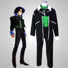 Athrun Zala Cosplay Green Gundam Seed Special Discount Cosplay Costumes, $88.19