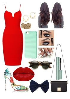 """Sin título #49"" by agusmachado16 on Polyvore featuring moda, Christian Louboutin, Jaeger, Madewell, Chanel y Winky Lux"