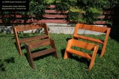 Austin Urban Coops - Leopold Benches (adult and child size plans)