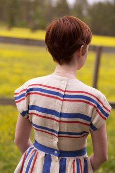 I love back-buttons. @Erin Burns, look at back of cut! and the dress :)