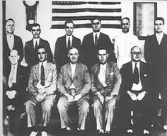 """photo of the real """"Untouchable"""" in Chicago.  The Untouchables were a group of eleven U.S. federal law-enforcement agents, led by Eliot Ness, who, from 1929 to 1931, worked to end Al Capone's illegal activities by aggressively enforcing Prohibition laws against Capone and his organization. In their conduct, they became legendary for being fearless and incorruptible, earning the nickname """"Untouchables""""."""