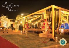 #Extravagant #celebration calls for a #luxurious #venue @ #Pandhi #Decorators.  #book now: http://goo.gl/b8Yj6q